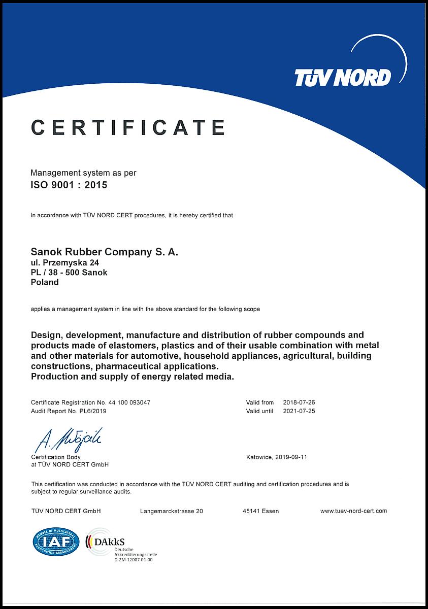 Sanok Rubber Sanok ISO 9001 2019 EN.png